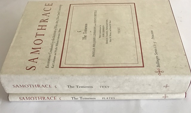 Samothrace, Volume 5 :The Temenos (Two Volumes, Plates and Text): The Temenos (Plates and Text) v. 5, Lehmann, Phylis Williams ;