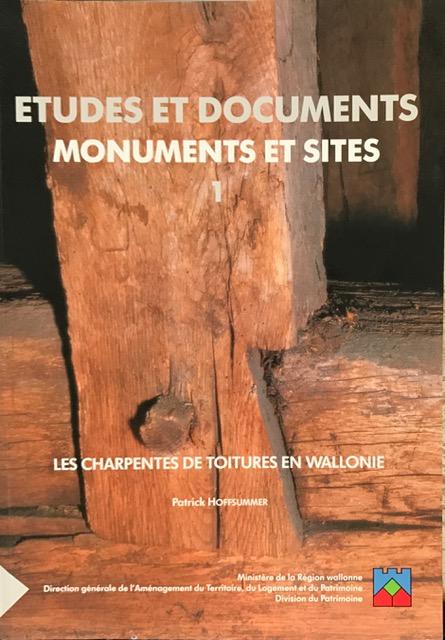 Etudes Et Documents Monuments Et Sites 1 :, Hoffsummer, Patrick ;