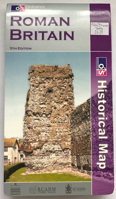Roman Britain (Historical Map & Guide) :, Ordnance Survey ;